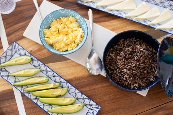 Desayuno Tipico is a satisfying tico breakfast