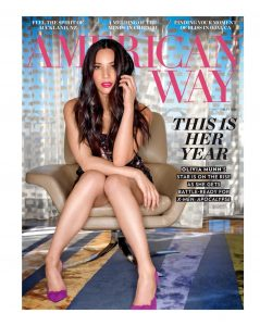 American Way Magazine, May 2016, Cover