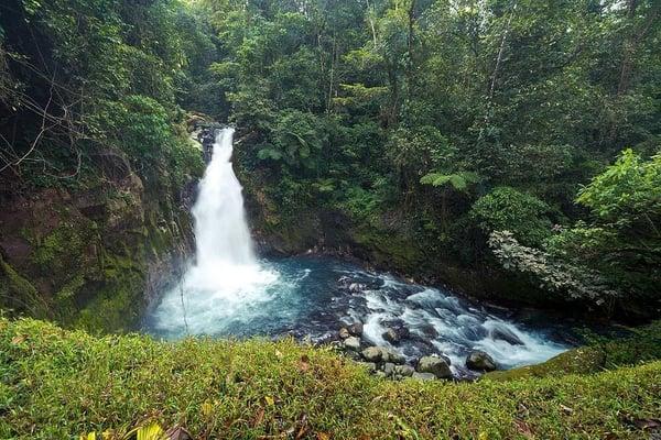 The Waterfalls of Kiwanda Maji